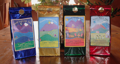 Specialty Blends from Taos Tea Company